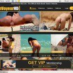 Free Beach Voyeur HD Membership Discount