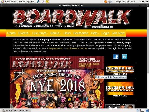 Boardwalkbar.com Free Trial