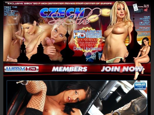 Czech Sex Club Buy Tokens