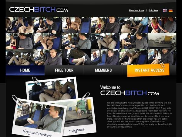 Discount Czechbitch Trial