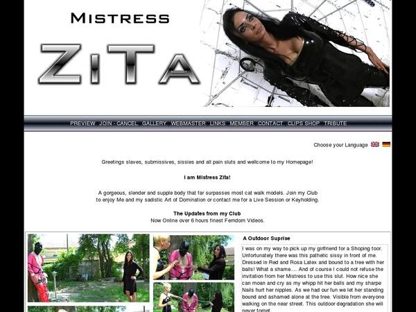 Mistress-zita.com Free Code