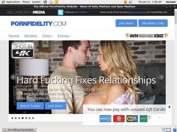 Free Porn Fidelity Premium Passwords